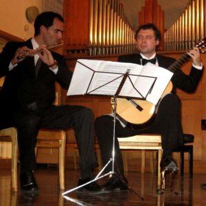 Modris Baumanis /ģitāra/ Manuels Ferndandezs /flauta/