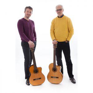 Ģitāru duets Bague - Aivars Hermanis un Ēriks Upenieks